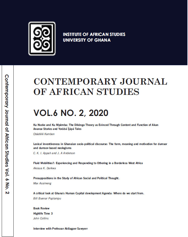 African Studies Journal